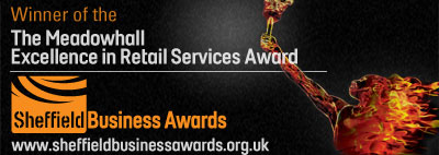 MEADOWHALL EXCELLENCE IN RETAIL SERVICES AWARD