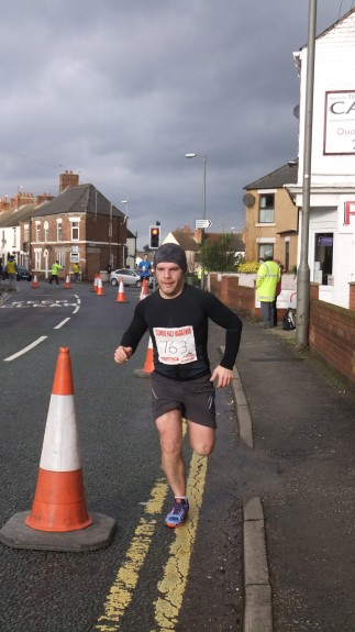 Previous 90min finish at Clowne Half