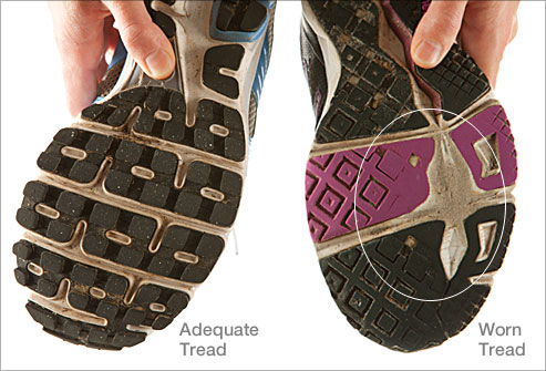 Are your shoes trying to tell you something?