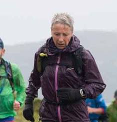 Earlier in the same Snowdon race (some testing weather from the off)