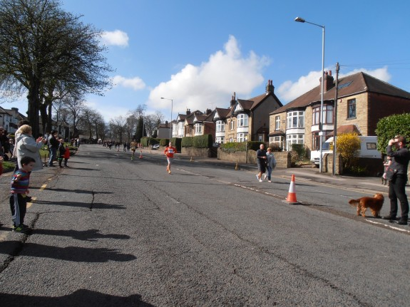 Heading back toward Ecclesall Rd South and the Sheffield City centre