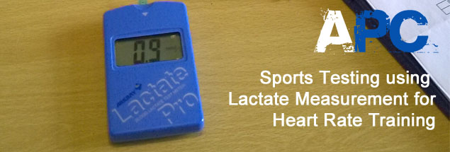Accelerate Performance Centre Lactate Testing