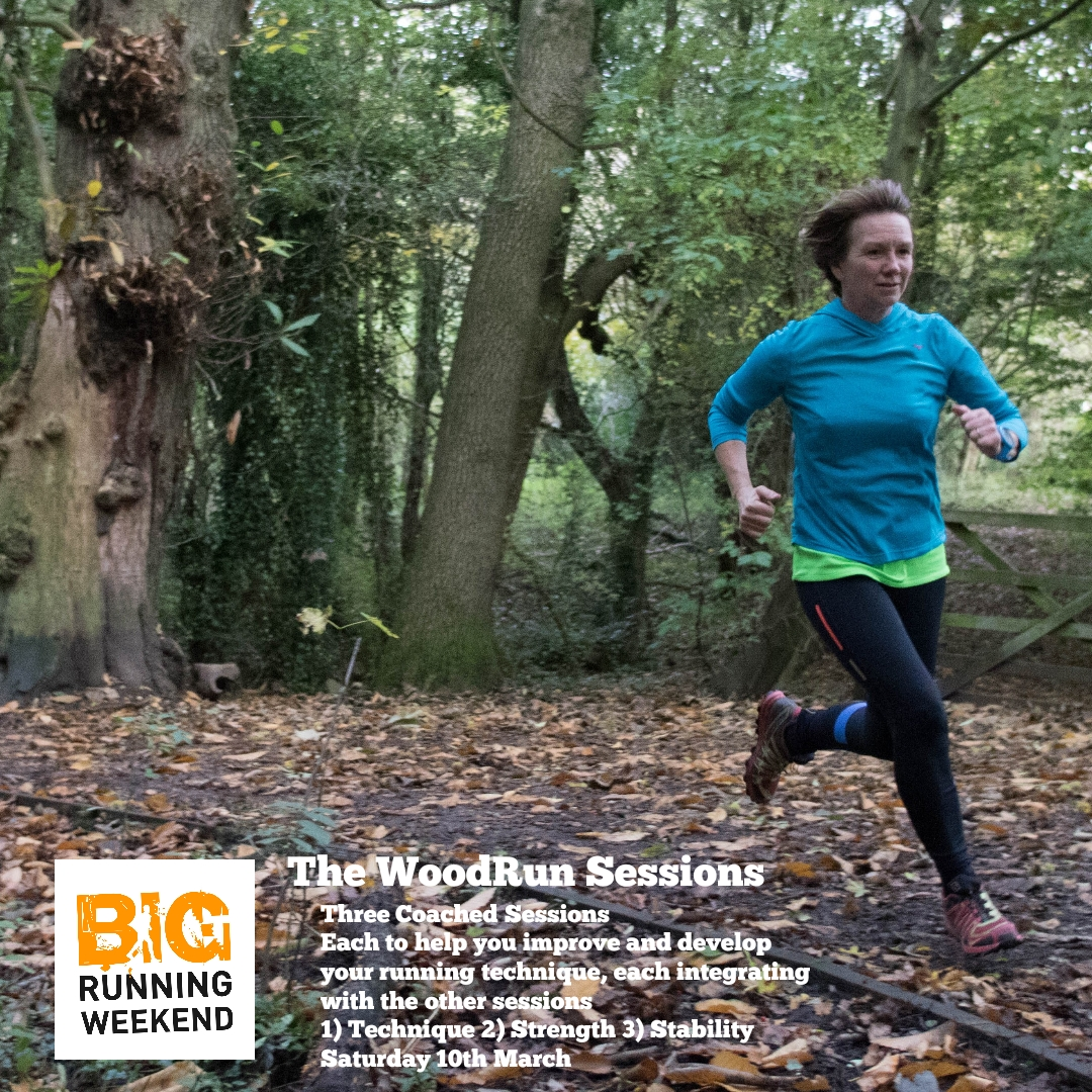 BIG Running Weekend : WoodRun Coached Sessions