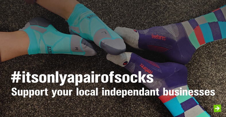 #itsonlyapairofsocks Support your local independant businesses