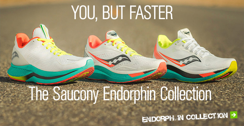 The Saucony Endorphin Collection